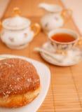 Sweet batch and tea Stock Photo