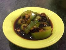 Sweet bean sauce. For peking duck royalty free stock images