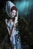 Sweet beautiful girl Stock Images