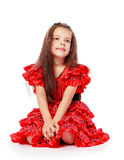 Sweet, beautiful little girl Royalty Free Stock Photo