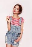 Sweet beautiful Lolita Stock Photos