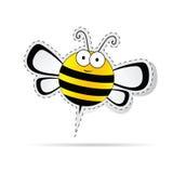 Sweet bee cartoon vector Royalty Free Stock Photography