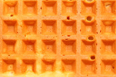 Sweet belgian waffles as background Royalty Free Stock Images