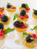 Sweet berries desserts Royalty Free Stock Photo