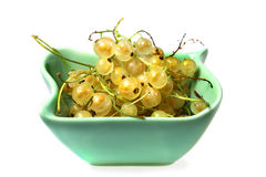Sweet berries - white currant Royalty Free Stock Images