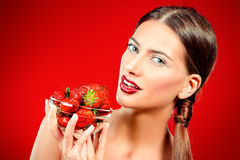 Sweet berry Stock Images