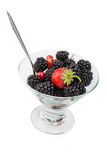 Sweet berry dessert Royalty Free Stock Photo