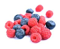Sweet berry mix Stock Photography