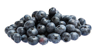 Sweet bilberries Royalty Free Stock Images