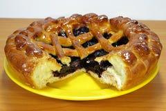 Sweet Bilberry Pie Royalty Free Stock Photos