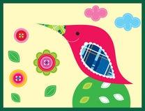 Sweet bird garden Stock Images