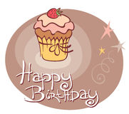 Sweet birthday Stock Images