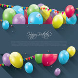 Sweet birthday background Stock Photography