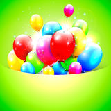 Sweet Birthday background Stock Photos