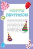 Sweet  birthday card Royalty Free Stock Photography