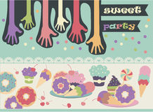 Sweet Birthday Party Royalty Free Stock Images