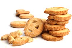 Sweet biscuit Stock Image
