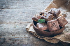 Sweet biscuite in the bowl Royalty Free Stock Photography