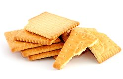 Sweet biscuits Royalty Free Stock Images