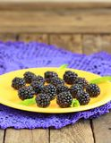 Sweet blackberries Royalty Free Stock Photography