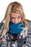 Sweet blond girl portrait Royalty Free Stock Images