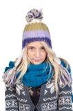Sweet blond girl portrait Royalty Free Stock Image