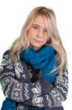Sweet blond girl portrait Royalty Free Stock Photo