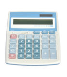Sweet blue color calculator Royalty Free Stock Images