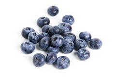 Sweet blueberry isolated on white background Royalty Free Stock Images