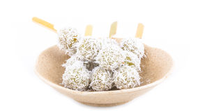 Sweet boiled ball dessert Royalty Free Stock Photos