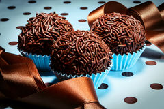 Brigadeiro a brazilian sweet royalty free stock photography
