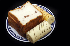 Sweet bread and cake Stock Photography