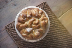 Sweet bread, cake Stock Photos