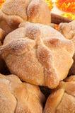Sweet bread called (Pan de Muerto) Royalty Free Stock Image