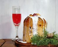 Sweet bread Christmas Stock Images