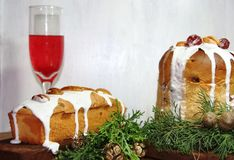 Sweet bread Christmas Royalty Free Stock Image