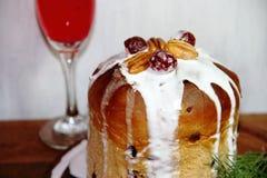 Sweet bread Christmas Stock Photos
