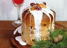 Sweet bread Christmas Stock Image