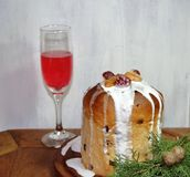 Sweet bread Christmas Royalty Free Stock Photos