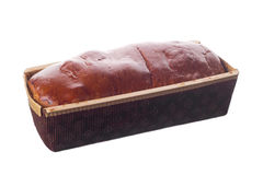 Sweet bread in disposable package Stock Photography