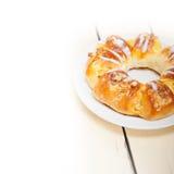 Sweet bread donut cake Royalty Free Stock Photos