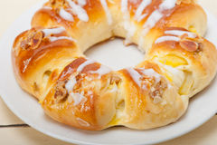 Sweet bread donut cake Stock Images