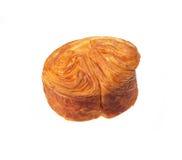 Sweet bread over white Stock Photo