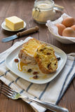 Sweet raisin bread Royalty Free Stock Photo