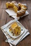 Sweet raisin bread Stock Image
