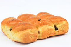 Sweet Bread And Raisin Royalty Free Stock Photography