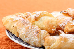 Sweet bread rolls Stock Images