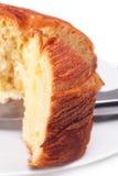 Sweet bread sliced closeup Stock Photography