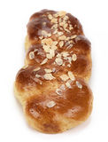Sweet bread(tsoureki-greek recipe). Tsoureki, a greek recipe of a sweet bread made for easter celebration Stock Photo