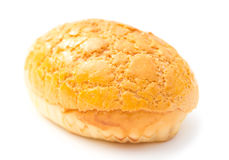 Sweet bread on white. Sweet bread on a white background Royalty Free Stock Photography